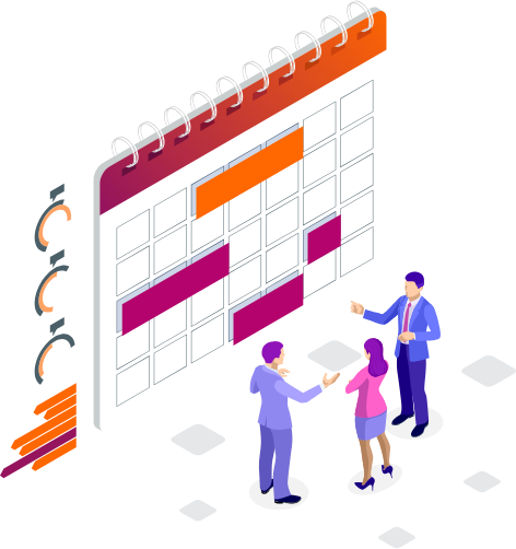 Agenda illustration
